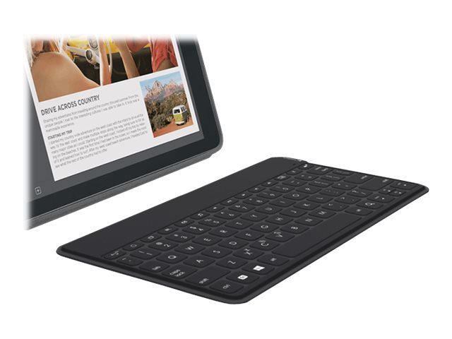 Logitech Keys-to-Go Ultra-Portable Keyboard for Android Windows, Black