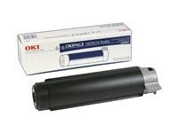Oki Type 7 Black Toner Cartridge for OkiPage 20 Series Printers, 40468801, 108770, Toner and Imaging Components