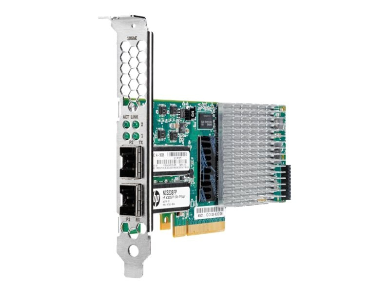 HPE NC523SFP 10GB 2-port Server Adapter, 593717-B21, 12421355, Network Adapters & NICs