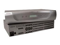 Raritan 64-port Paragon II KVM Switch, 16 users, Main Switching Unit with Stackable Port