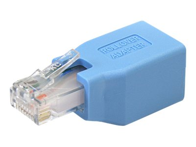 StarTech.com Rolloever Adapter for RJ-45 Ethernet Cable (M-F), ROLLOVER