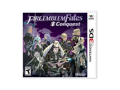 Nintendo Fire Emblem Conquest, 3DS, CTRPBFYE, 30911657, Video Games
