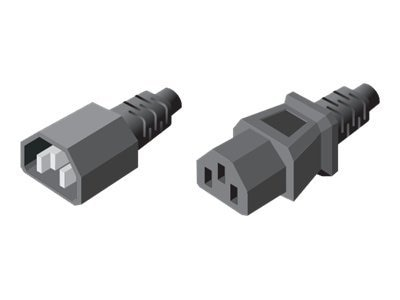 Server Technology Power Cord IEC 60320 C14 Inlet to IEC320 C13 Outlet, 12ft 3.6m, 10A, 18AWG, CAB-1302B, 16483140, Power Cords