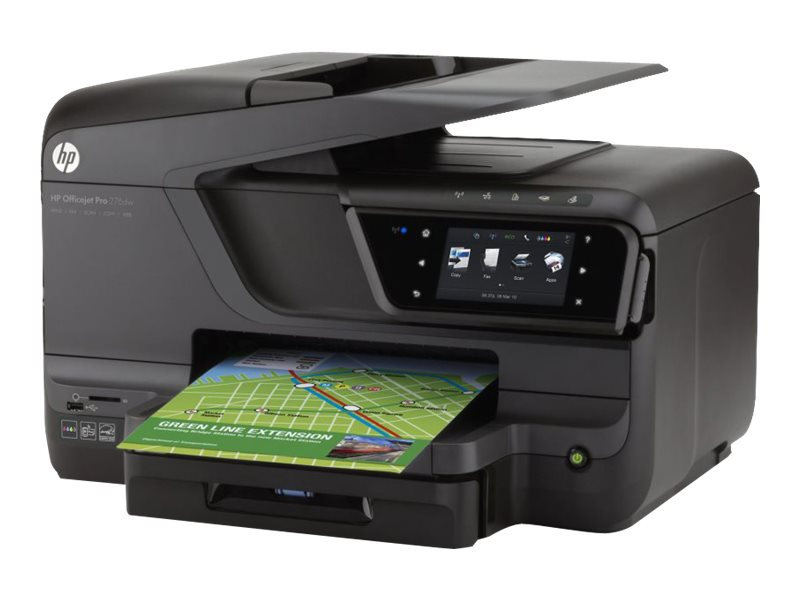 HP Officejet Pro 276dw Multifunction Printer, CR770A#B1H, 15281466, MultiFunction - Ink-Jet