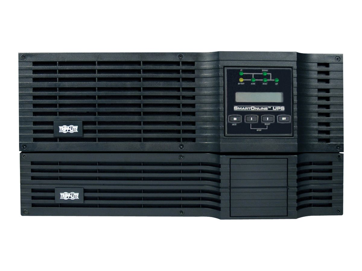 Tripp Lite 5000VA UPS Smart Online Rack Tower PureSine High Voltage 5kVA 200-240V (4) Outlet, SU5000RT3UHV, 5547451, Battery Backup/UPS