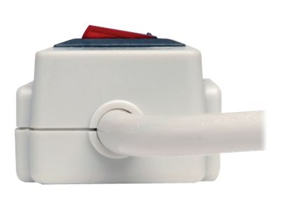 Tripp Lite Protect It! Surge (4) Outlet (2 Transformers) 4ft Cord 390 Joules, TLP404
