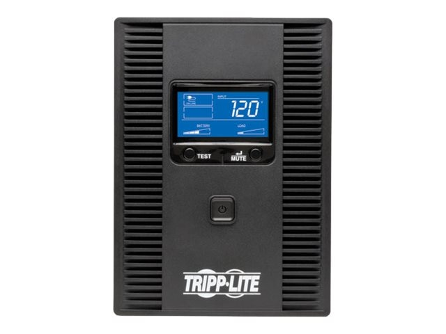Tripp Lite OmniSmart LCD 1500VA Tower Line-Interactive 120V UPS with LCD Display, OMNI1500LCDT