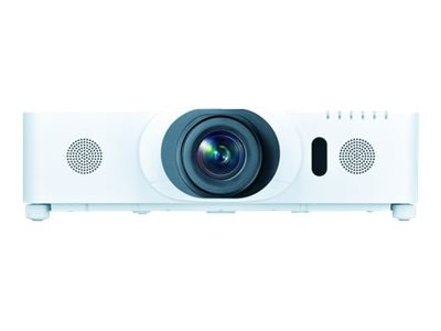 Hitachi CP-WU8451 WUXGA 3LCD Projector with Speakers, 5000 Lumens, White, CP-WU8451