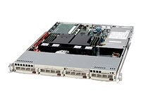 Supermicro 1U Rack Mount Case with 500W Cold-swap Power Supply