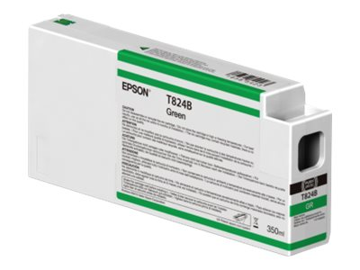 Epson Green Ultrachrome HDX 350ml Ink Cartridge for SureColor P7000 & P9000 Printers, T824B00