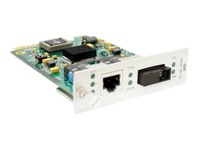 ACP-EP Media Converter Card  100BXD 40KM 1550 1310NM SM SC For Add-Rack System, ADD-MCC1MBX53-40, 16042563, Network Transceivers
