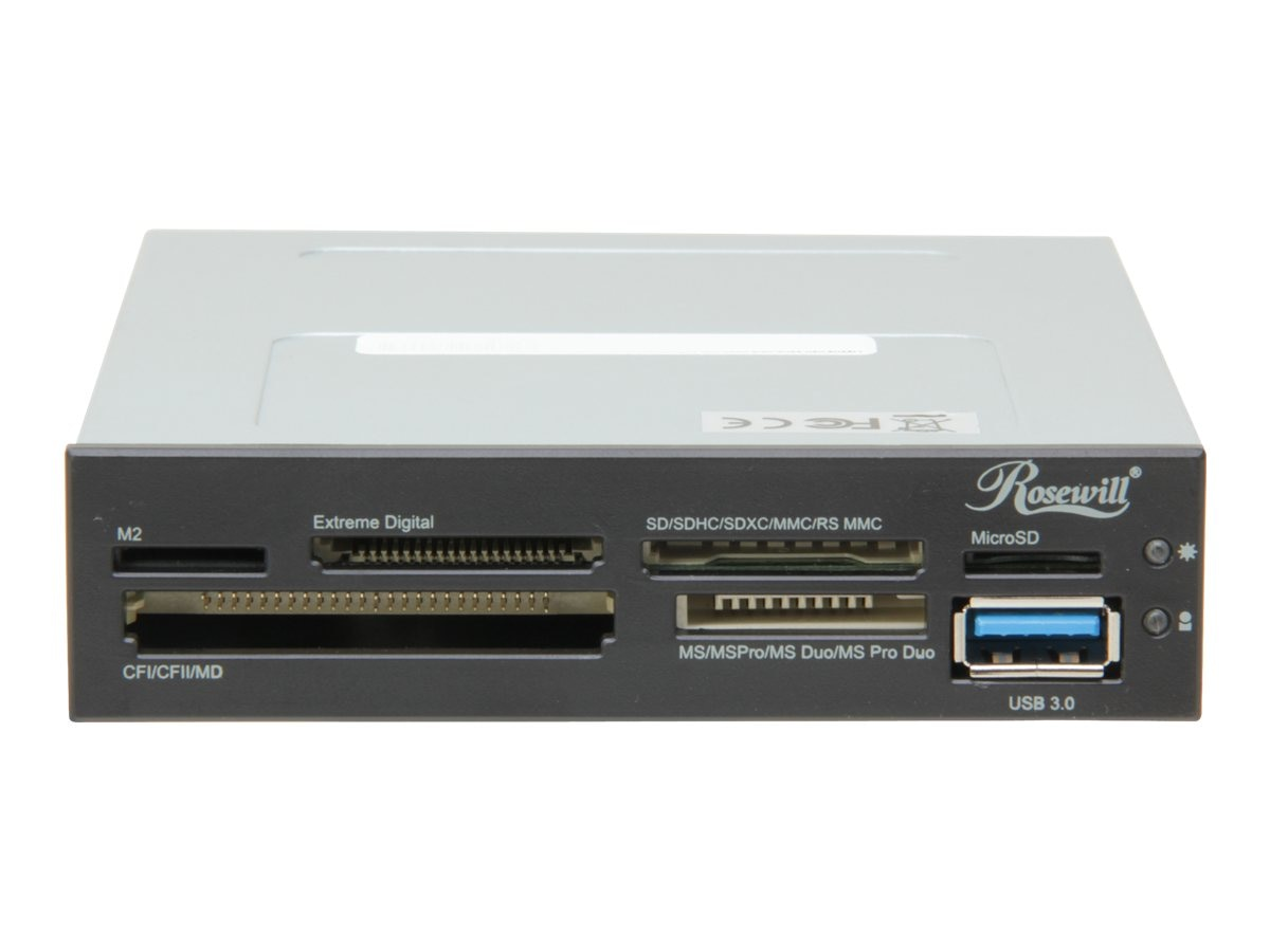 Rosewill 74-in-1 USB 3.0 3.5 Internal Card Reader with USB Port