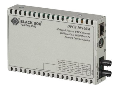 Black Box DynamicFiberConversionSystem, LMC3102A, 18014005, Network Transceivers