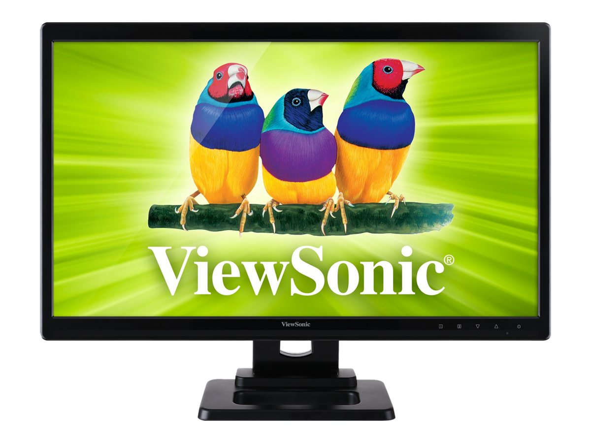 ViewSonic 24 TD2420 Full HD LED-LCD Monitor, Black, TD2420, 15313587, Monitors - LED-LCD