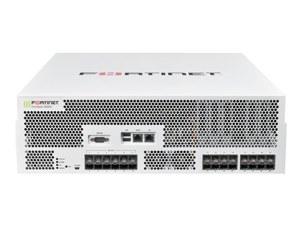 Fortinet FortiGate-3600C  Hardware Only