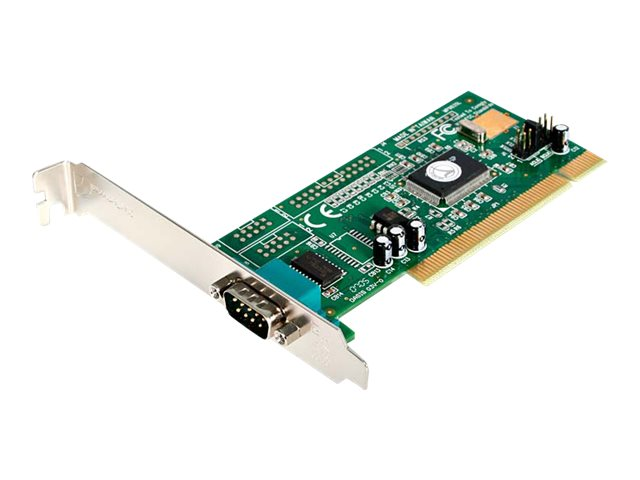 StarTech.com 1-Port Serial PCI I O Card Adapter, 16550 UART, Plug & Play, PCI1S550
