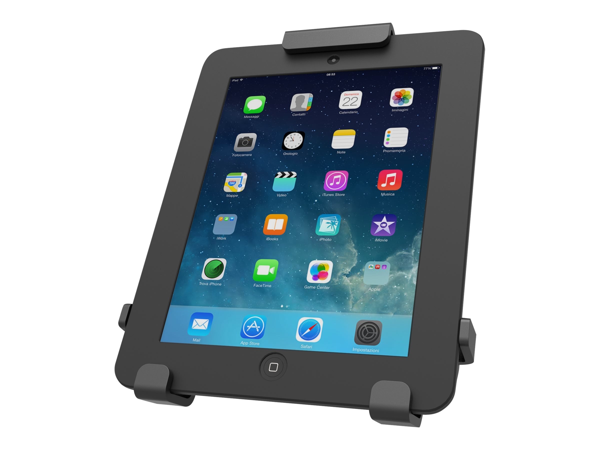 Maclocks Universal Tablet Rugged Locking Case Mount, 820BRCH