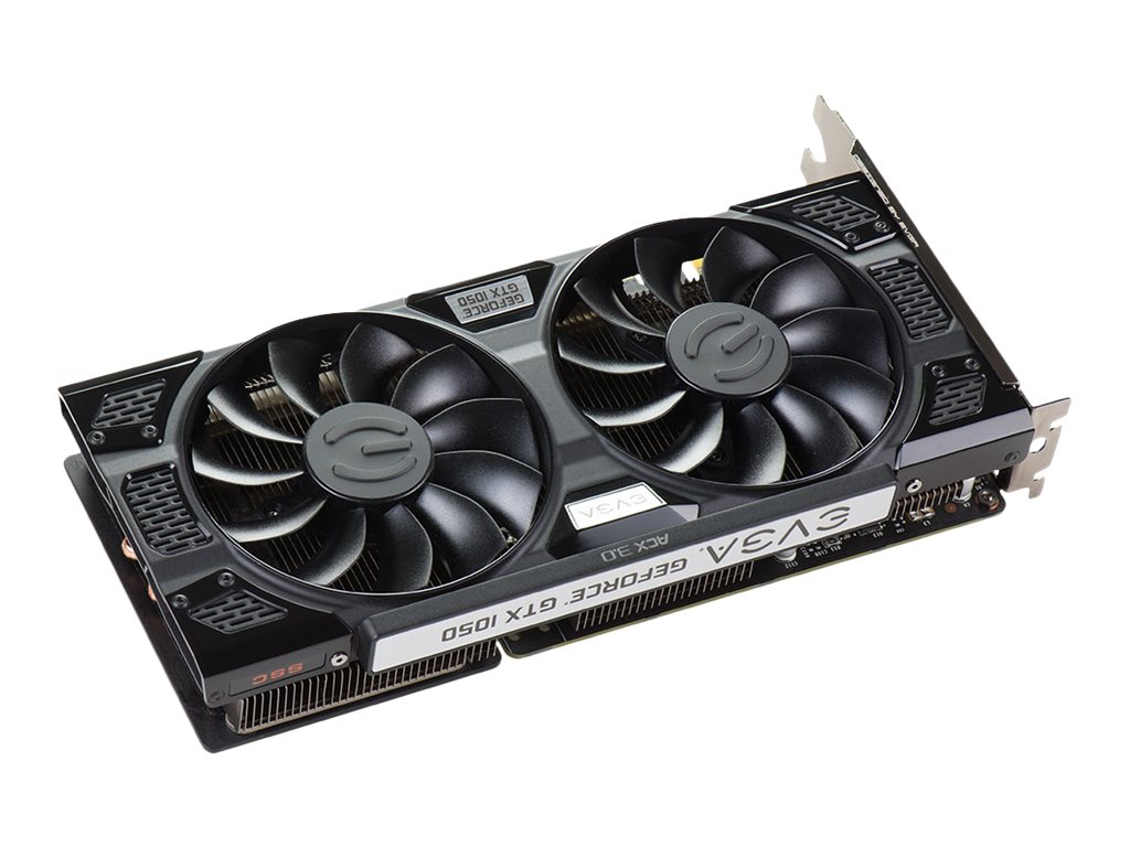 eVGA GeForce GTX 1050 PCIe 3.0 x16 Superclocked Graphics Card, 2GB GDDR5, 02G-P4-6154-KR