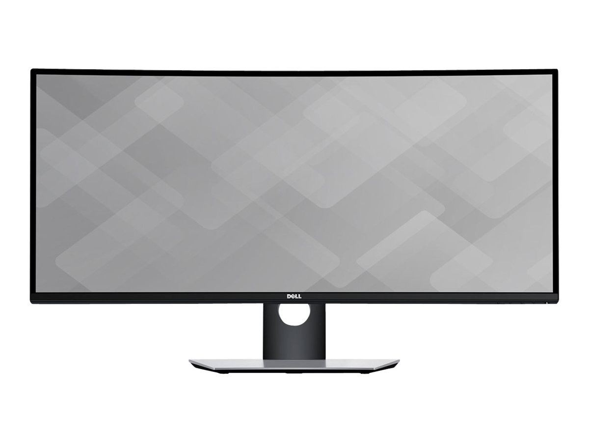Dell 34 U3417W WQHD LED-LCD Ultrawide Curved Monitor, Black