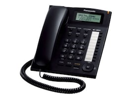 Panasonic Single-Line Phone w  Dial, KX-TS880B, 12549842, Telephones - Consumer