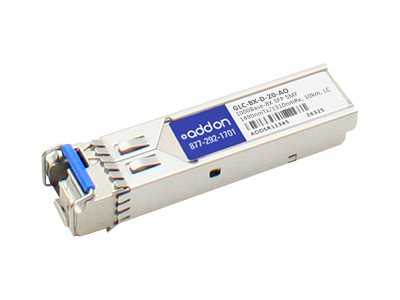 ACP-EP Cisco 1000Base-BX SFP Transceiver, TAA, GLC-BX-D-20-AO