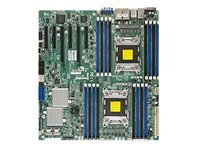 Supermicro Motherboard, E5-2600,ROMLEY DUAL CPU,4 LAN,IPMI,SAS2, MBD-X9DR7-LN4F-O, 13763023, Motherboards