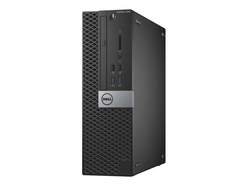 Dell OptiPlex 3040 SFF Core i3-6100 3.7GHz 4GB 500GB DVD-ROM GbE W7P64-W10P, V30MM, 30983095, Desktops
