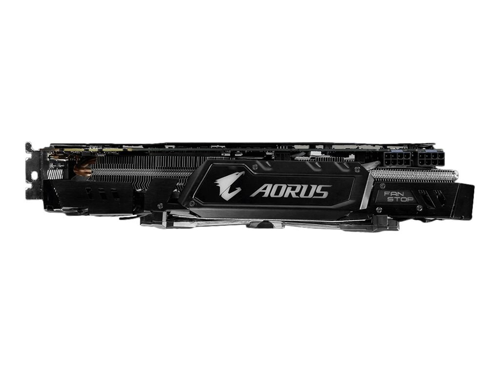 Gigabyte Tech GeForce GTX 1080 PCIe 3.0 x16 Graphics Card, 8GB GDDR5X, GV-N1080AORUS-8GD