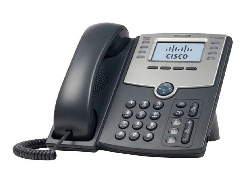 Cisco 8 Line IP Phone w  Display PoE & PC Port, SPA508G, 10081625, VoIP Phones