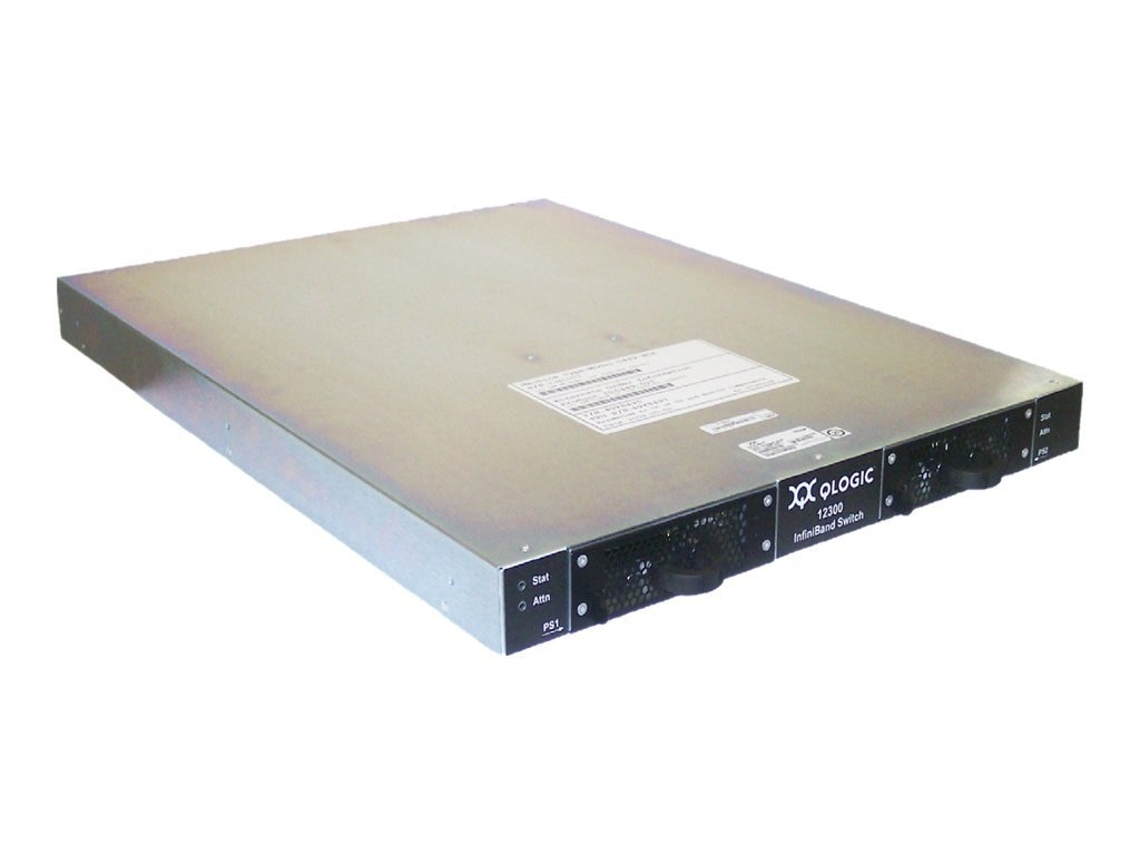 Intel 18-PORT QLogic InfiniBand Edge Switch 12300-BS18 - Switch Managed 36 x QSFP Rack-mountable, 12300BS18, 14751147, Network Switches