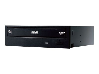 Asus 18x Internal DVD-ROM Drive - Black, DVD-E818AAT/BLK/B/GEN, 15585013, DVD Drives - Internal