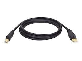 Tripp Lite Hi-Speed USB 2.0 Type A to Type B M M Device cable, Black, 15ft, U022-015, 5623151, Cables