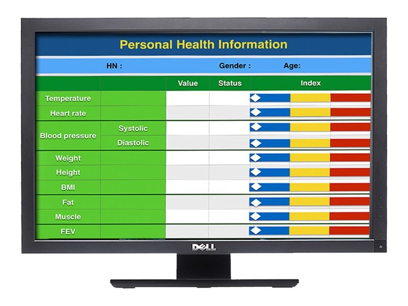 Man & Machine 22 Medical Review LCD Privacy Monitor