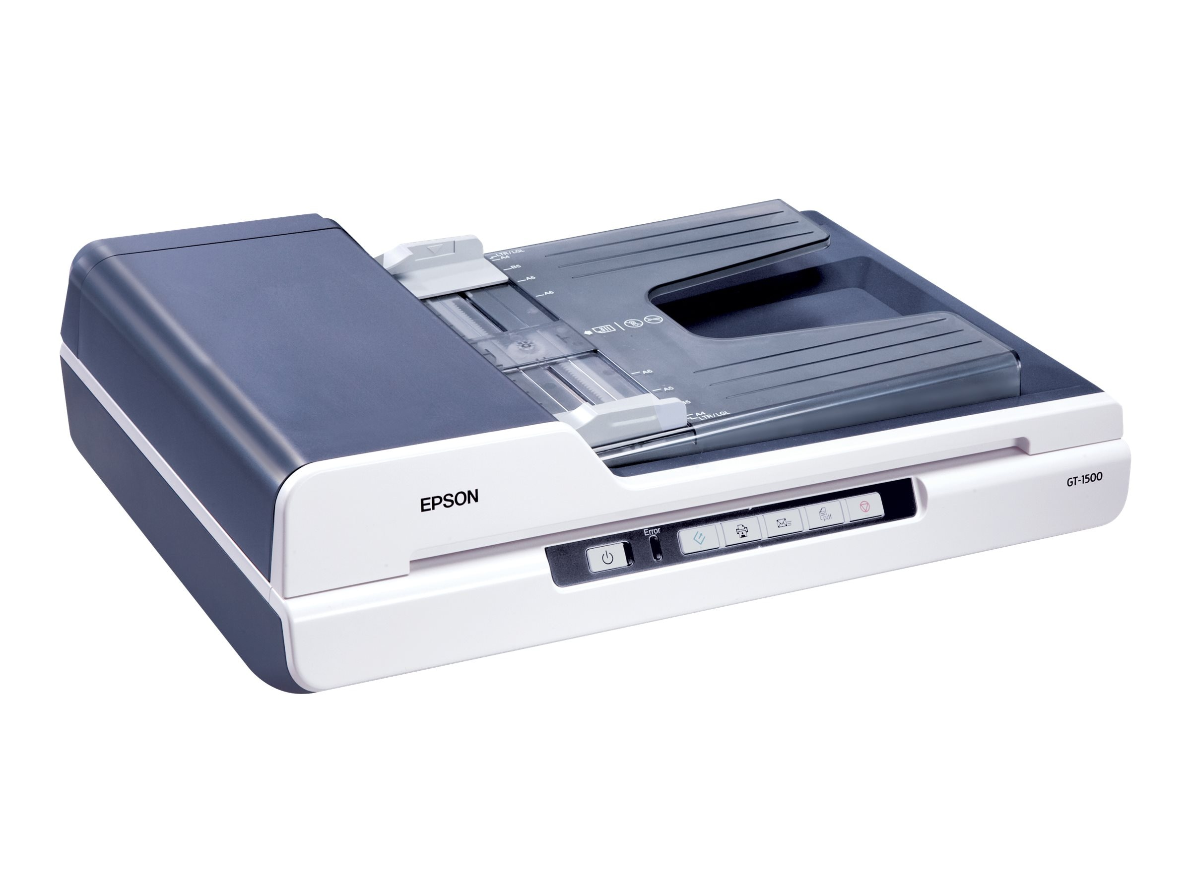 Epson WorkForce GT-1500 Flatbed LED Scanner, B11B190011