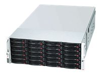 Supermicro SuperChassis SC847E16 4U RM (2x)Intel AMD Family 45x3.5 Bays 7xFans 2x1280W RPS