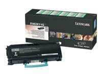 Lexmark Black Extra High Yield Return Program Toner Cartridge for X463de, X464de & X466 Series MFPs, X463X11G, 9644603, Toner and Imaging Components