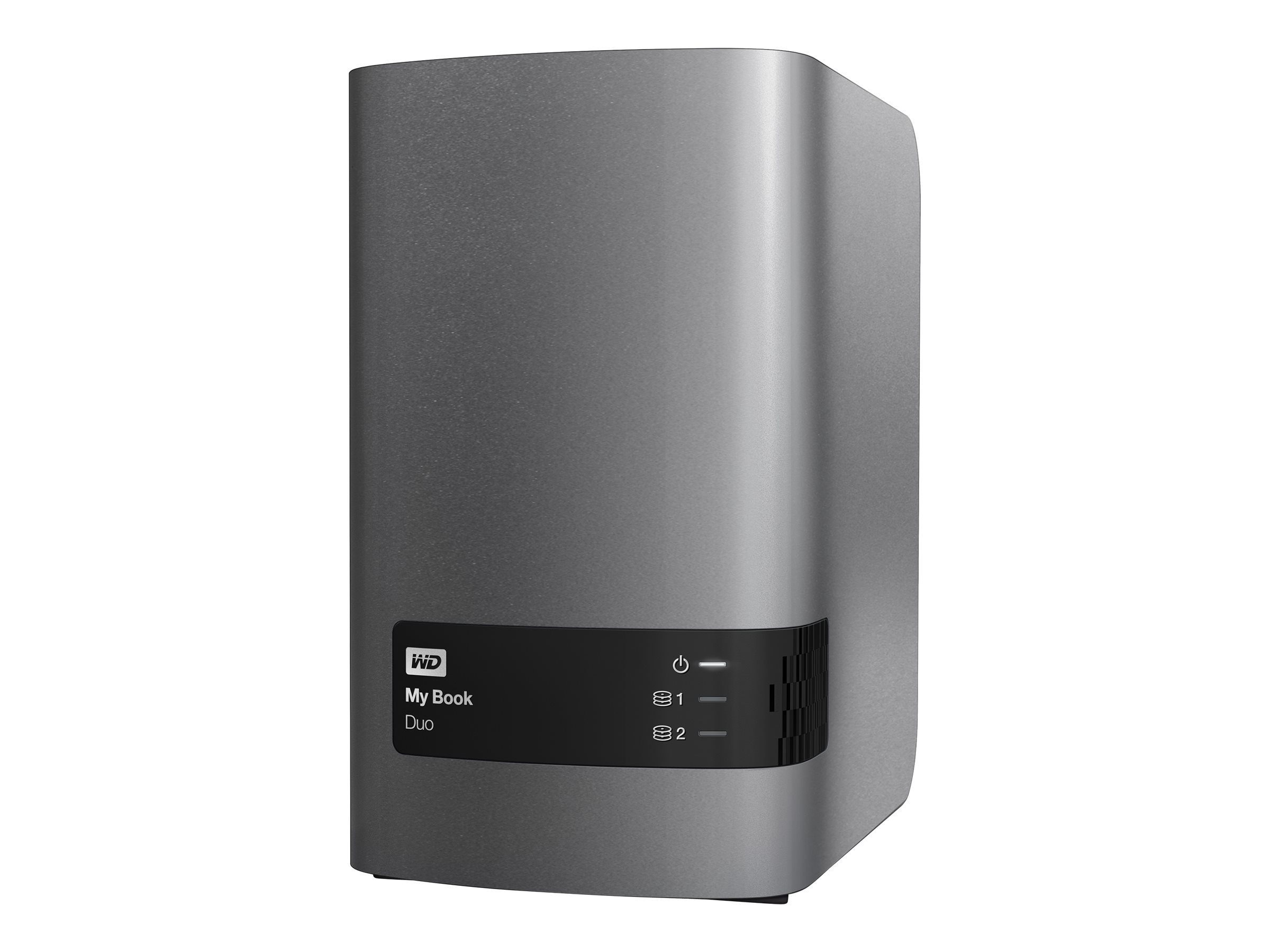 WD 12TB My Book Duo RAID Storage, WDBLWE0120JCH-NESN, 17380759, Hard Drives - External