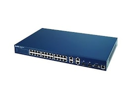 Zyxel ES3124 Fully-Enabled 24-port Fast Ethernet (L2+) Layer 2+ Switch & 2 Gigabit or SFP Ports, ES3124, 5804673, Wireless Routers
