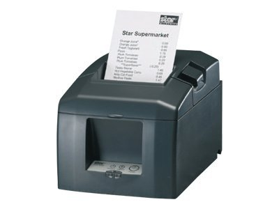 Star Micronics TSP654L-SK Thermal Ethernet Printer - Gray w  Cutter, 37963030