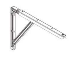 Draper 18 20 24 Extension Brackets for Luma Screens, White, 227216, 12897775, Stands & Mounts - AV