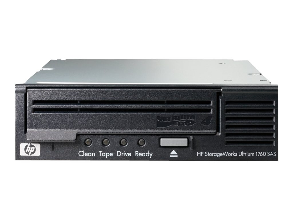 HPE StorageWorks 800GB 1.6TB Ultirum 1760 SAS Tape Drive, EH919B, 14665185, Tape Drives