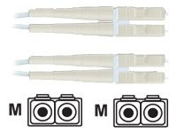 Panduit LC-LC Multimode Duplex Patch Cord, 3m