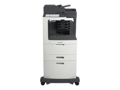 Lexmark MX810dxme Monochrome Laser Multifunction Printer, 24T7418