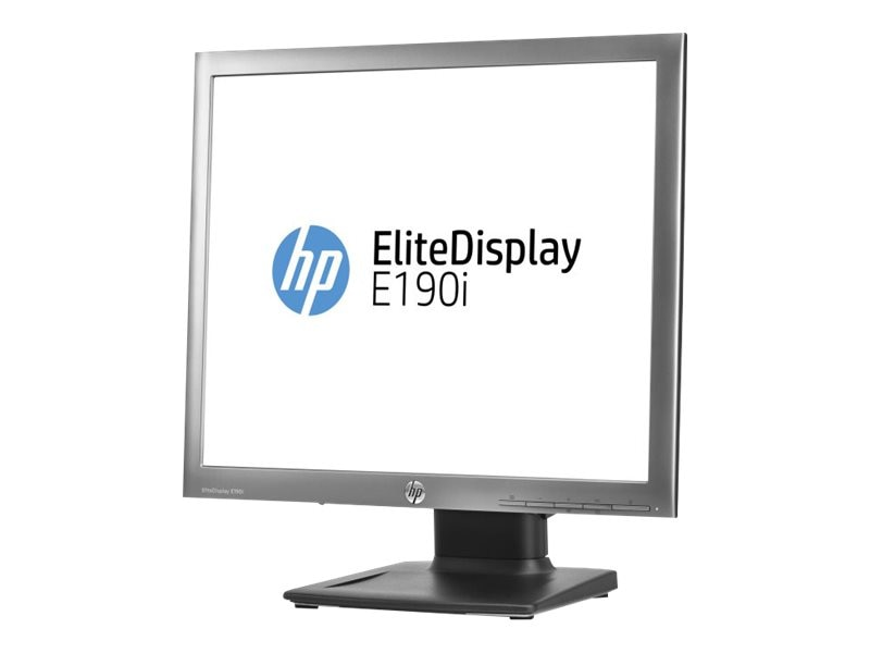 HP 18.9 E190i LED-LCD Monitor, Black, E4U30AA#ABA