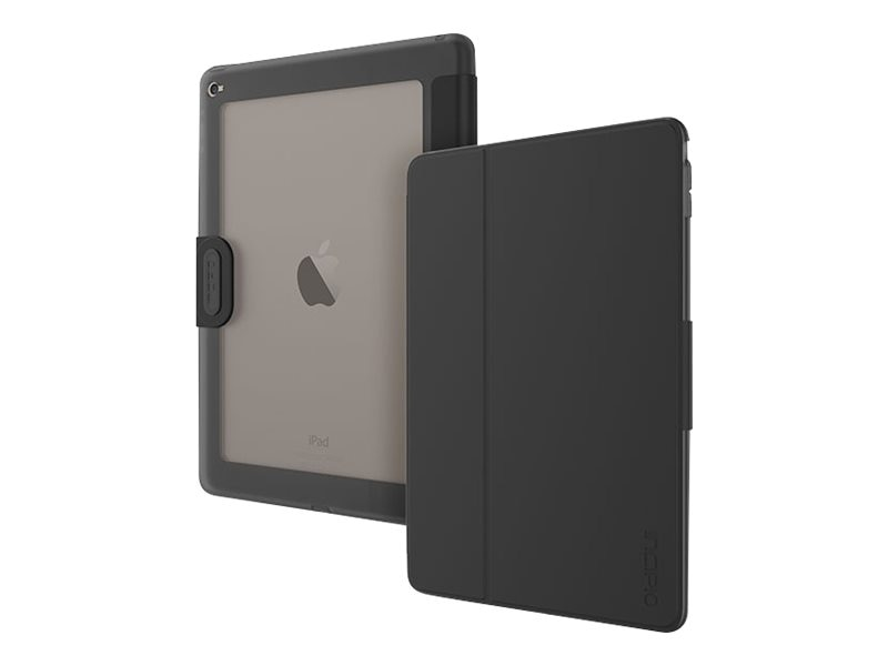 Incipio Clarion Clear Back Education Case for iPad Air 2, Black, IPD-353-BLK