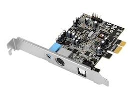 Siig Dual Profile SoundWave 5.1 PCIe Sound Card, IC-510211-S1, 18843188, Sound Cards