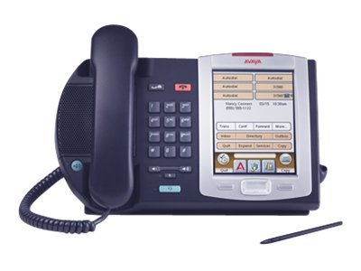 Avaya IP Phone 2007 with Bezel, Charcoal, NTDU96BB70E6, 11949967, Telephones - Business Class