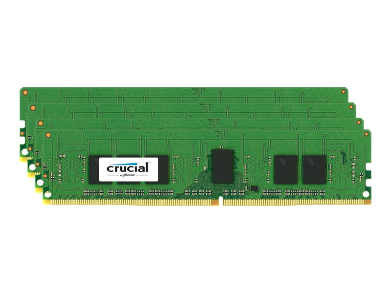 Crucial 16GB PC4-17000 288-pin DDR4 SDRAM DIMM Kit, CT4K4G4RFS8213, 17854491, Memory