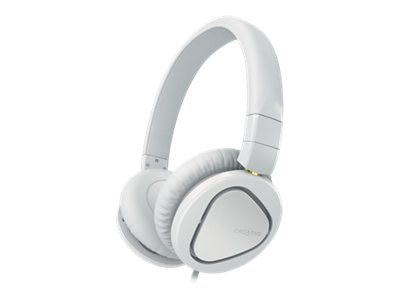 Creative Labs HITZ MA2600 Headset, White, 51EF0650AA005, 16094865, Headsets (w/ microphone)