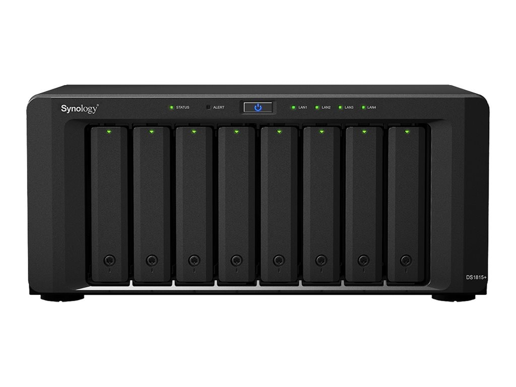Synology DiskStation 8-Bay Network SAttached Storage (Diskless), DS1815+, 18015358, Network Attached Storage